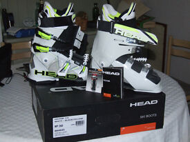 Head Vector 115 ski boots,unused and boxed,size 7 uk,mint