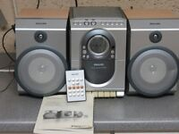 Phillips Stereo system (Radio, CD and cassette)