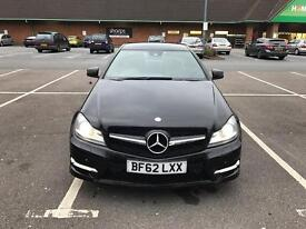 Black Mercedes-Benz class AMG sport c180 £10095 ono