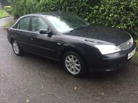 2004 FORD MONDEO 1.8 PETROL # M.O.T TO 29 th JUNE 2018 # METALLIC PANTHER BLACK # EXCELLEN £ 495 #