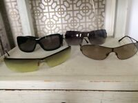 Four Stylish Designer Sunglasses - Chanel, Dior, Bulgari