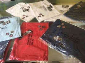 WHOLESALE of 42 X Boys Polo Shirts in Navy,White,Red,Sky Blue Free Delivery
