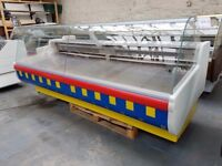 Serve Over Counter Display Fridge Meat Chiller 266cm (8.7 feet) ID:T2413