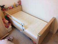 Mamas & Papas Cotbed, Dresser & Toy box