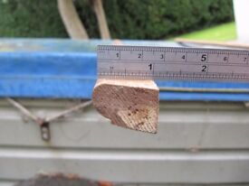 Timber staff bead / sash window bead