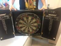 Winmau professional dart board