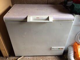 Bosch chest freezer- medium size