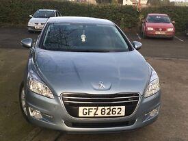 Peugeot 508. Road tax £30.00 per year. Mot'd to July.