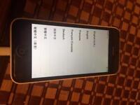 iPhone 5c 8gb unlocked White £70