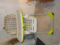 BABIES HIGH CHAIR. EXCELLENT CONDITION.