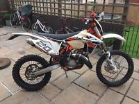 Ktm 125 exc 6 days first to see will buy