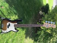 Squire bass by Fender