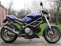 Ducati m 620 s ie 2002, 28000 miles £1650