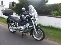 BMW R850R, 2002. OUTSTANDING CONDITION. ONLY 14023 MILES. £2950 ONO.