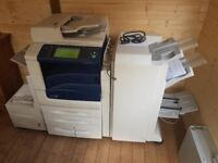 Xerox Workcentre 7855 Photocopier with professional finishing unit and bulk paper tray