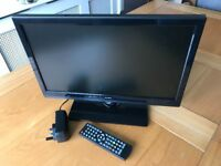 """Alba 19"""" LED TV with DVD"""