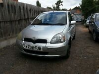 2001 Toyota yaris 1.0 , drives excellent