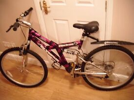 Olympus Electron Mountain Bike for sale only used once