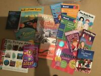 Set of 14 age 11-13 year old children books, as good as new