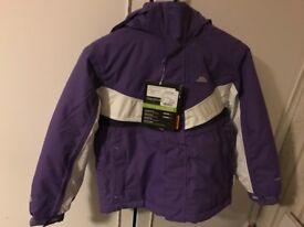 Girls Trespass jacket size 5-6