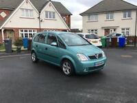 Vauxhall Meriva 1.6 Cheap To Run And Insure, great family car