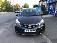 Toyota Yaris VVT-i TR 2013-Manual-34k miles only-1 Year MOT-Excellent car