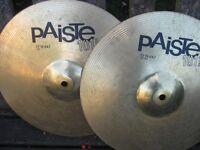 "Cymbals - Paiste 101 13"" Hi Hats"