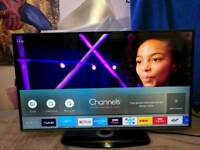 Samsung 40 4k smart internet wifi freeview Tv.