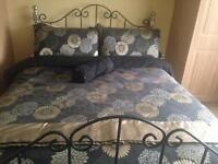 Double bedstead and mattress for sale!!