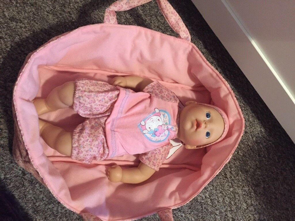 My first baby annabell and carrycot