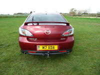 2009 Mazda 6 2.2D TDI Diesel Sports Hatch 185 Very reliable, Bose. Swanage