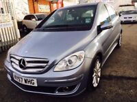 MERCEDES B 200 DIESEL AUTOMATIC 2007 LEATHER SEATS LOW MILEAGE 60000 MILES