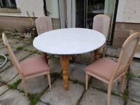 TABLE AND 4 CHAIRS - PROJECT ???