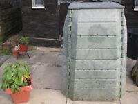 heavy duty plastic compost bin