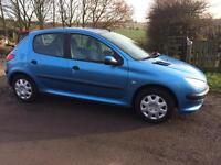 206 LX immaculate condition, service history