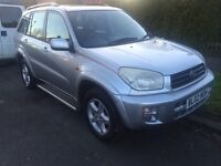 TOYOTA RAV4 5 DOOR ONE OWNER LEATHER SEATS