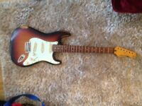 Vintage Icon V6 Strat Project Electric Guitar