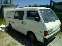Left hand drive Mazda E2200 double sliding door long wheel base mini bus.