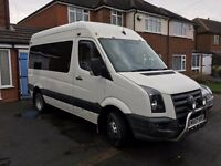 VW Crafter, Camper Day Van, 4 Berth, Low Milage, Much more room than a T5