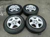 """17"""" VW Touareg alloy wheels"""