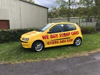 WE BUY SCRAP CARS!!! Ford Vauxhall fiat Toyota Nissan Peugeot