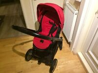 Babystyle Oyster pushchair in Red