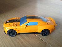 Rare Bumblebee Camaro sports car transformer toy