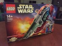 LEGO Star Wars: slave I (75060) Brand new still sealed box