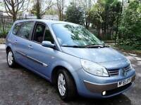 **2005/55 RENAULT GRAND SCENIC 1.6 DYNAMIQUE 5DR 7SEATER S/HISTORY LONG MOT L/MILEAGE GREAT RUNNER**