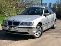 BMW 3 Series 2.0 318i SE 4dr 12 MONTH MOT SERVICE HISTORY GREAT CAR START AND DRIVE PERFECT