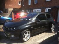 Peugeot 206 gti 180,2004 , 95000 miles, aftermarket sound system, 12 months MOT £1450 Ono