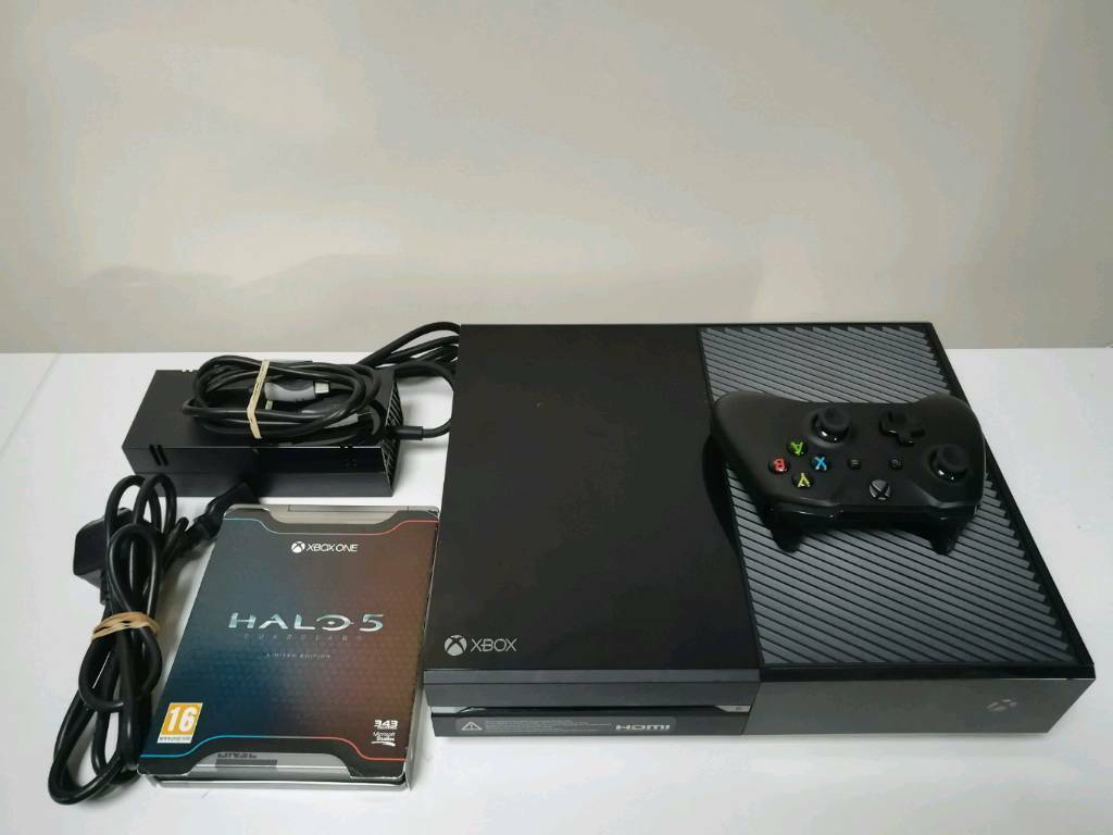 Xbox One 500gb Console, Controller, Power Supply and Ltd edition Steel Book  Halo 5 Guardians   in East Kilbride, Glasgow   Gumtree