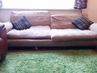 Large 3-Seater Sofa - Free, must collect