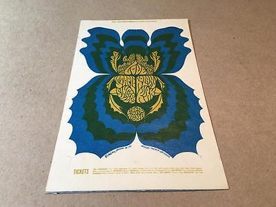 BG 116 Postcard -- LOVE -- STAPLE SINGERS -- Fillmore, Winterland